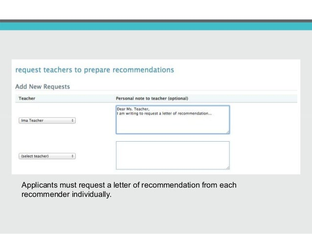 23 teachers and counselors can upload a letter of recommendation