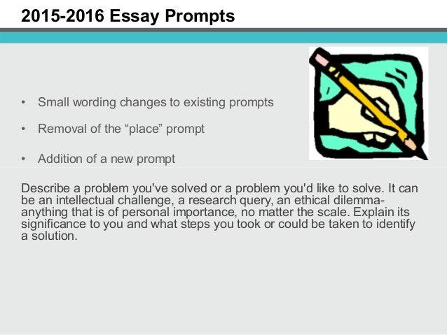 common app essay 2015