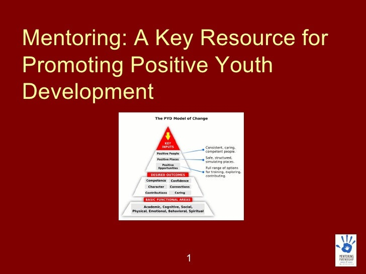 Mentoring: A Key Resource for Promoting Positive Youth Development