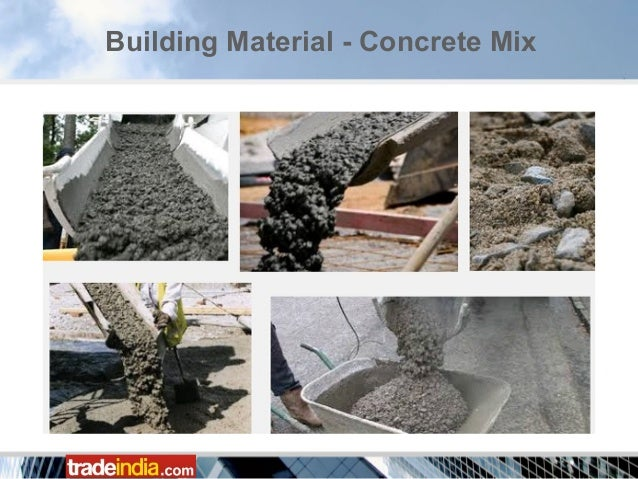 Cement Building Materials : Common building construction materials equipment