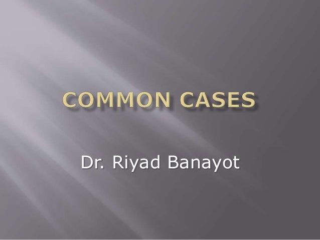 Dr. Riyad Banayot