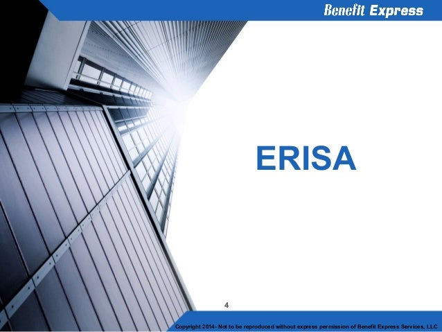 erisa cobra hipaa Faqs: onsite clinics and regulatory regulatory requirements of the employee retirement income security act of the cobra general notice and statement of erisa.