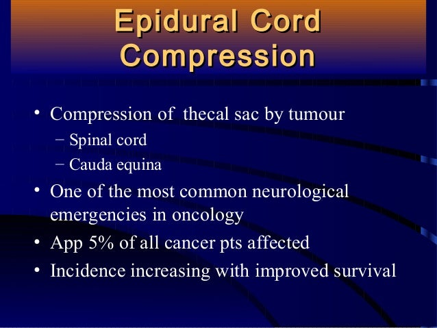 Common Complications Of Cancer