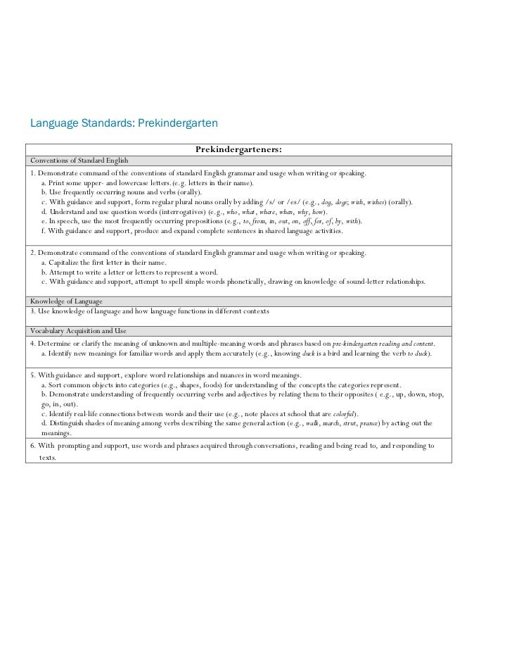 Common core approved jan2011 language standards prekindergarten prekindergartenersconventions of expocarfo