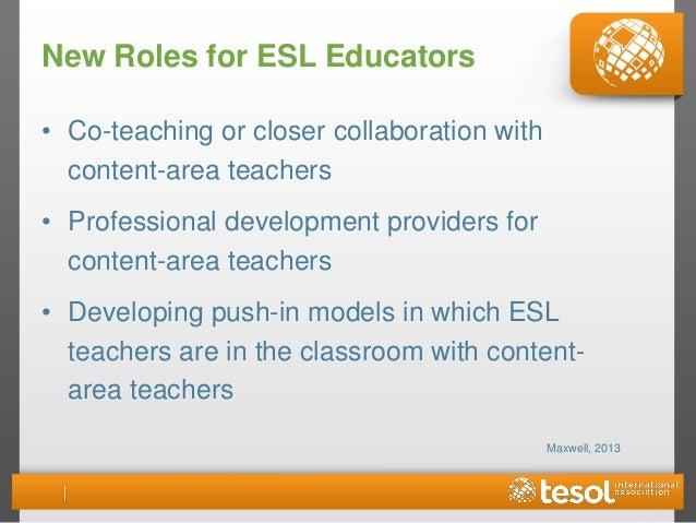 pedagogical leaders 28 new roles for esl educators - Esl Teacher Duties