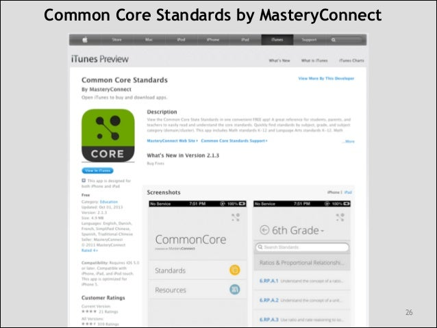 Common Core Standards, Technology and the School Library ...