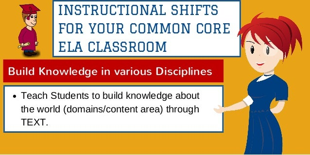 6 Instructional Shifts For Your Common Core Ela Classroom