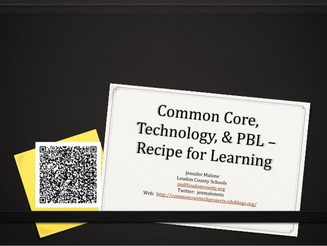 """Do you see Common Core as  """"just refilling a bucket""""?"""