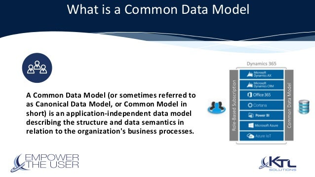 Common Service and Common Data Model by Henry McCallum