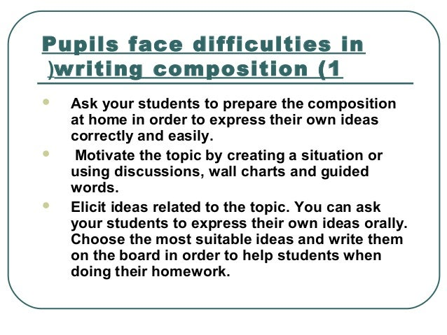 difficulties in writing academic english