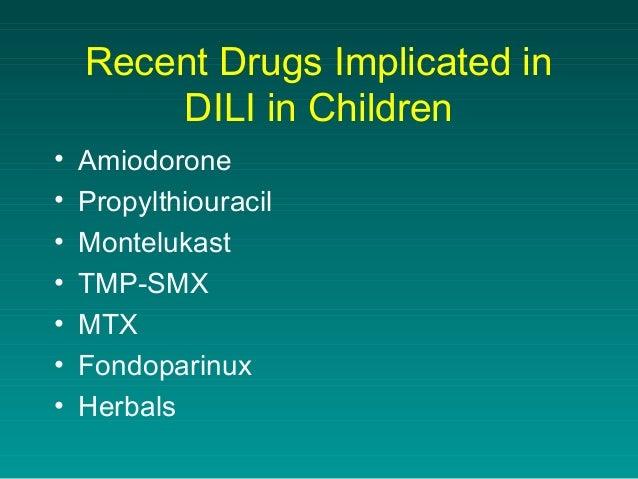 Common drug induced liver injury in children -dr. harshad devarbhai