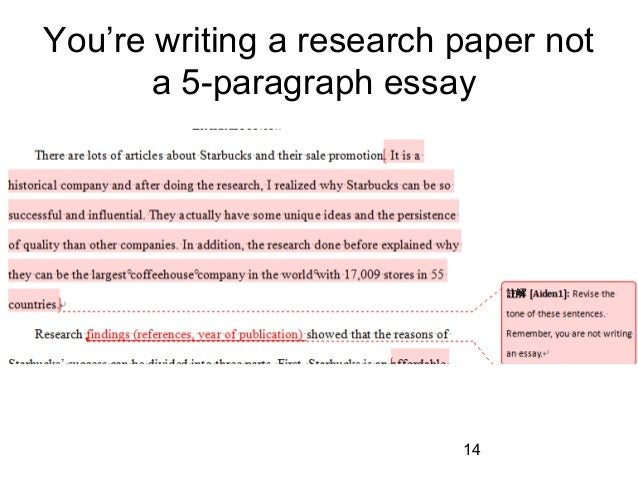 Mistakes in writing an essay