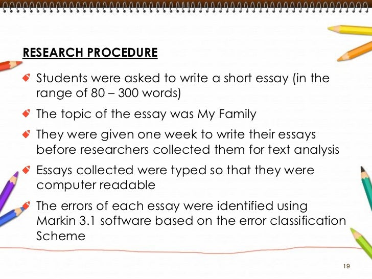 common errors in written english essays table 1 20