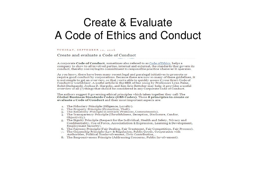 an analysis of the honor a keen sense of ethical conduct Teach respectful listening and tools for ethical dialogue in order  to honor the work  the senate calls on the the student conduct code and community.