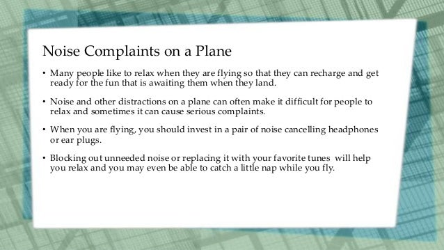 Common Flight Complaints and How to Avoid Them Slide 3