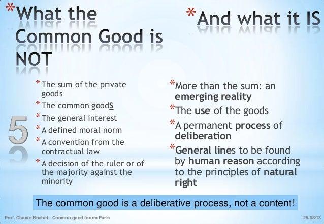 Array - what is the common good   rh   slideshare net