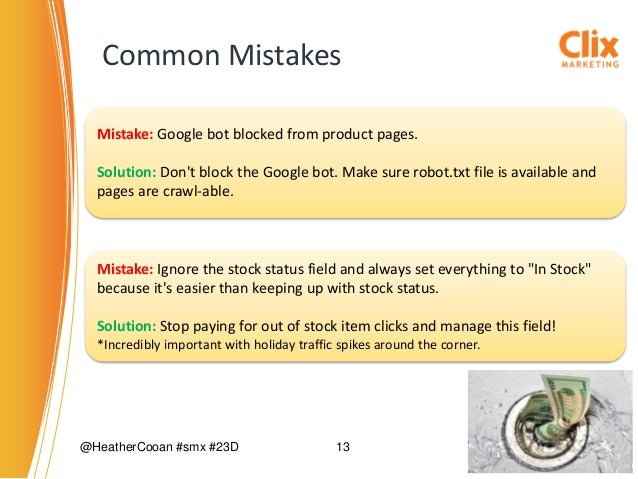 Common Google Shopping Disapproval Problems & Tips fro SMBs by Heathe… slideshare - 웹
