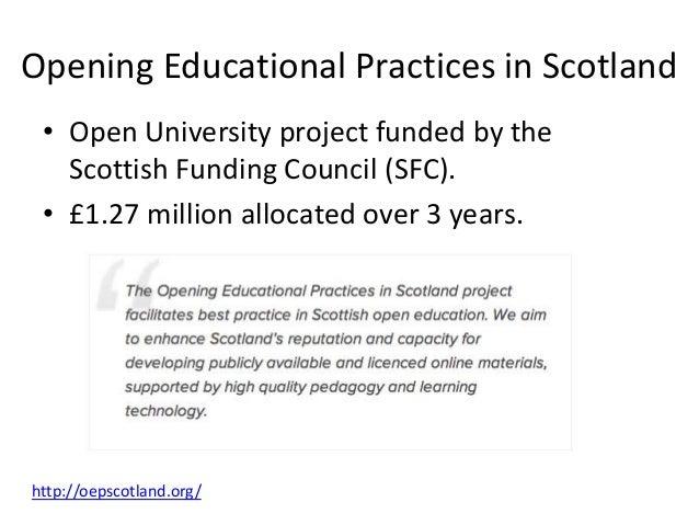 ALT • ALT Scotland SIG. • ALT Open Education SIG. • Run annual events across Scotland.
