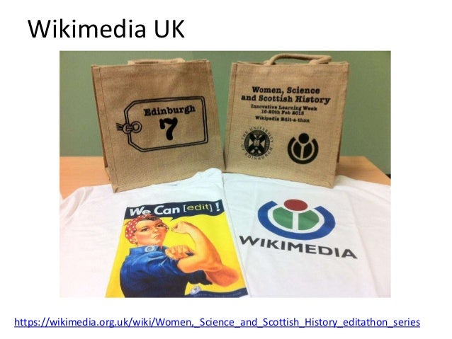 Wikimedia UK • Wikimedians-in-residence at the National Library of Scotland and Museums Scotland. • Wide range of editatho...