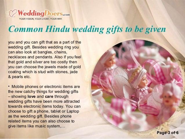 Hindu Wedding Gift Ideas: Common Hindu Wedding Gifts To Be Given