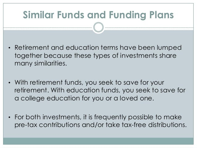 Educational investment pension case