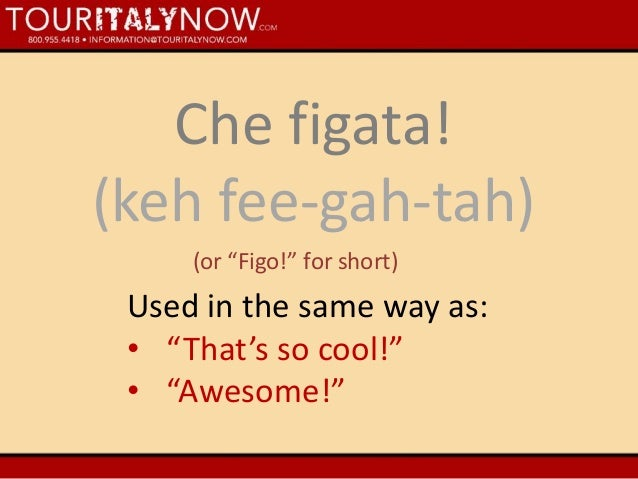 Common Italian Expressions 8