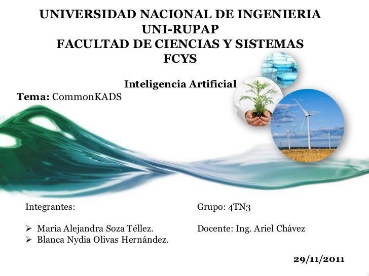 UNIVERSIDAD NACIONAL DE INGENIERIA                UNI-RUPAP      FACULTAD DE CIENCIAS Y SISTEMAS                   FCYS   ...