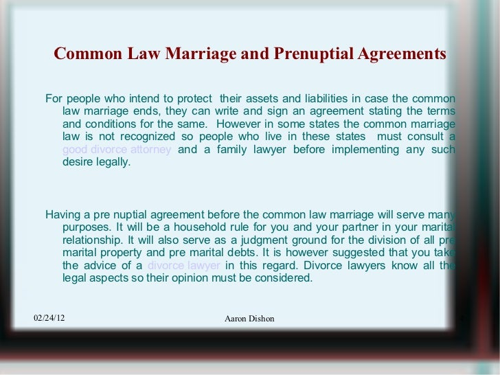 Common Law Marital Property