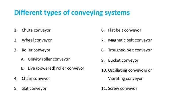 Commonly Used Conveying Systems In Feed Mills
