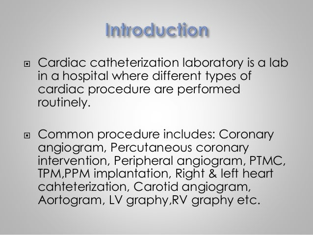 Commonly Used Drugs In Cath Lab