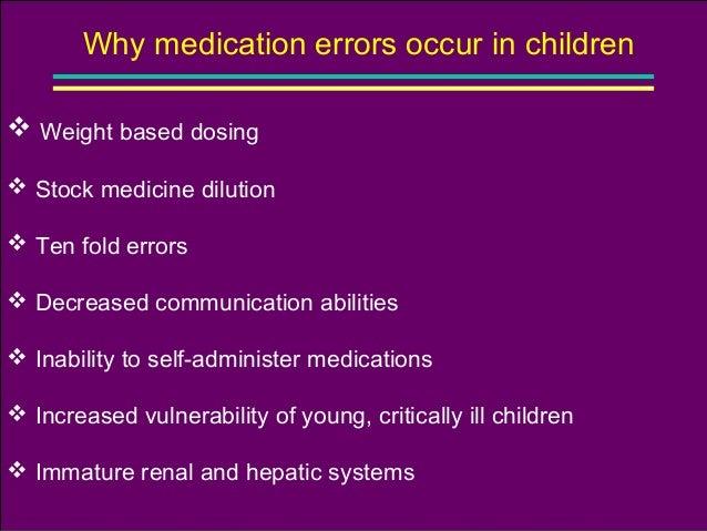 common medical error in nicu