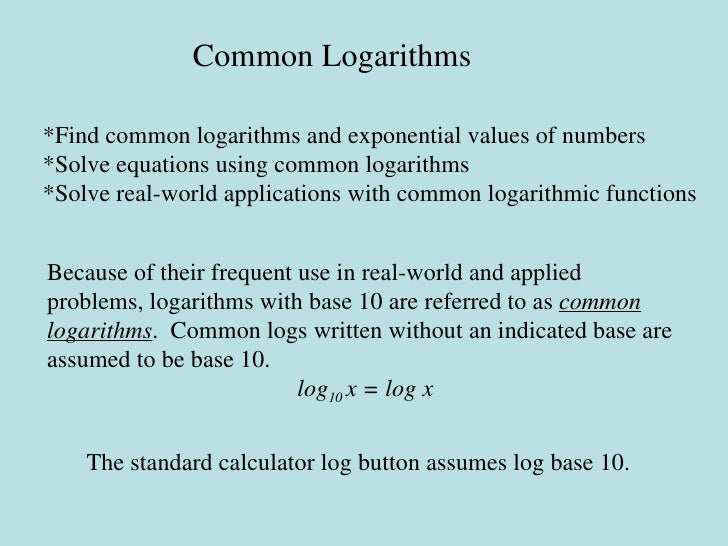 Use Natural Logarithms To Solve Exponential Equations