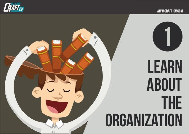 learn about the organization 1