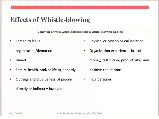 an essay on the issue of whistle blowing in the workplace Conflicting loyalties in the workplace, frederick a elliston, notre dame, ind,   of legal whistle-blowing issues easily comprehended by the lay person   material rather than essay on the subject with comments about the items cited.