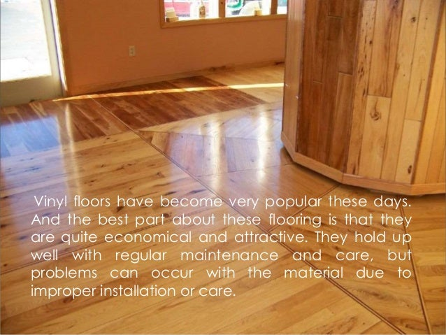 Common Problems With Vinyl Flooring