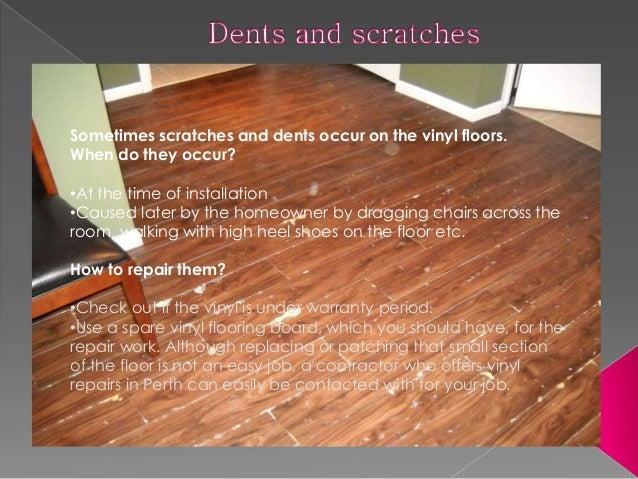 3. Loose Seams Are Quite Common In Vinyl Flooring.