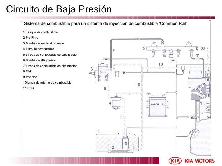 Circuito Kia : Common rail bosch manual