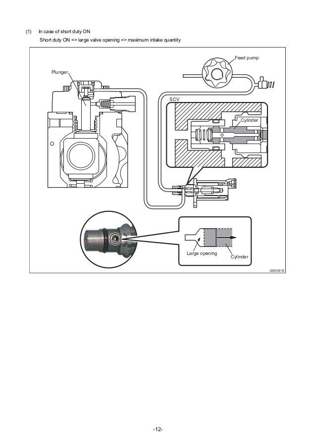 Common rail system for nissan