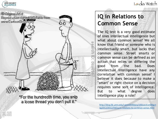 Common Sense 101 - so much to learn about CS