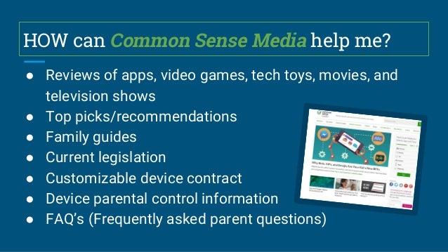 Common Sense Media Presentation to Woodward North Parent