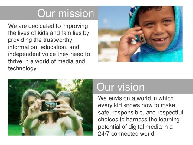 Our Missionmission      OurWe are dedicated to improvingthe lives of kids and families byproviding the trustworthyinformat...