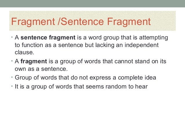 common sentence error Rev 12/17/14 common sentence error #2: run-on sentences run-on sentences are like comma splices, except they combine two independent sentences without any.