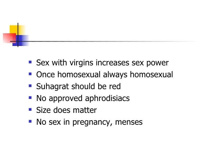 Lack of sex health problems