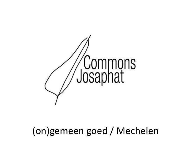 (on)gemeen goed / Mechelen