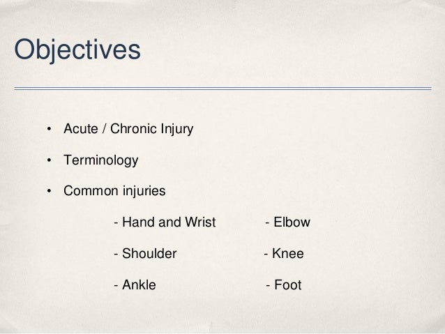 Common sports injuries.2560