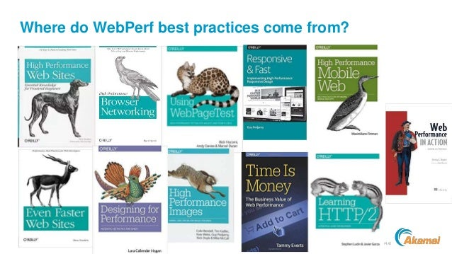 ©2018 AKAMAI Where do WebPerf best practices come from?