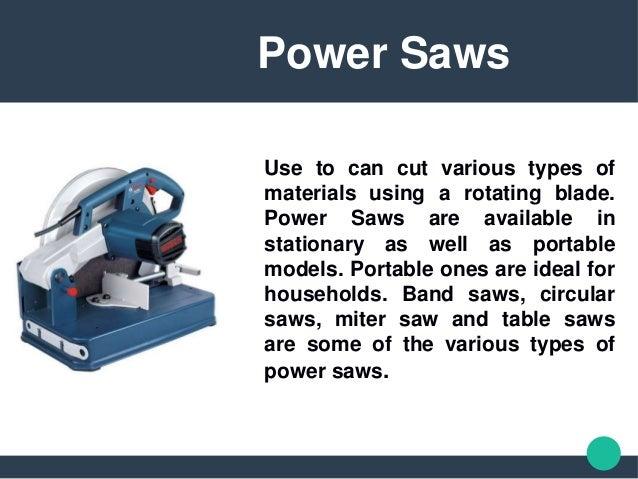 power saw types. types of power saws. 3. saw