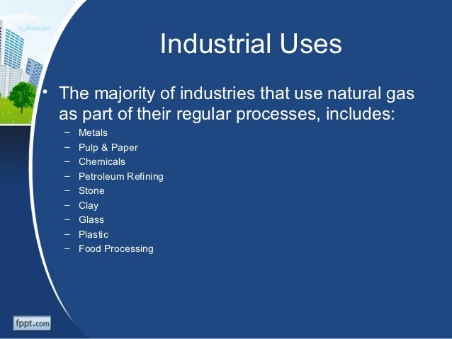 Natural Gas Ingredients