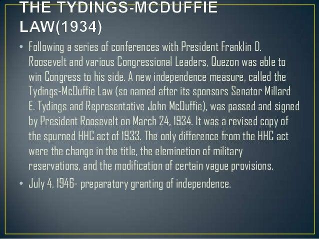 mcduffie act