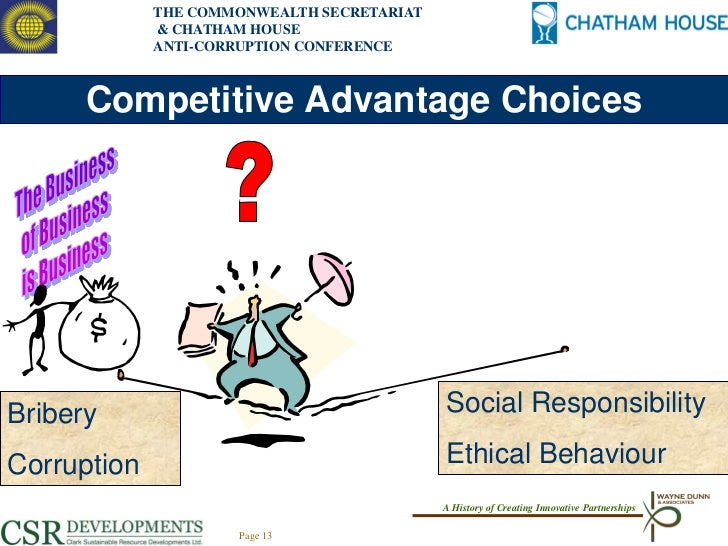 competitive advantage csr Employees often take a pay cut to participate in csr programs, but  employees  for a competitive advantage — and keeping these bright.